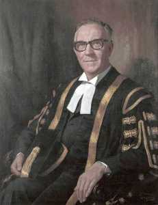 Howard Barron - Winston Herbert Frederick Barnes (b.1909), MA, DCL, Vice Chancellor of University of Liverpool (1963–1969)
