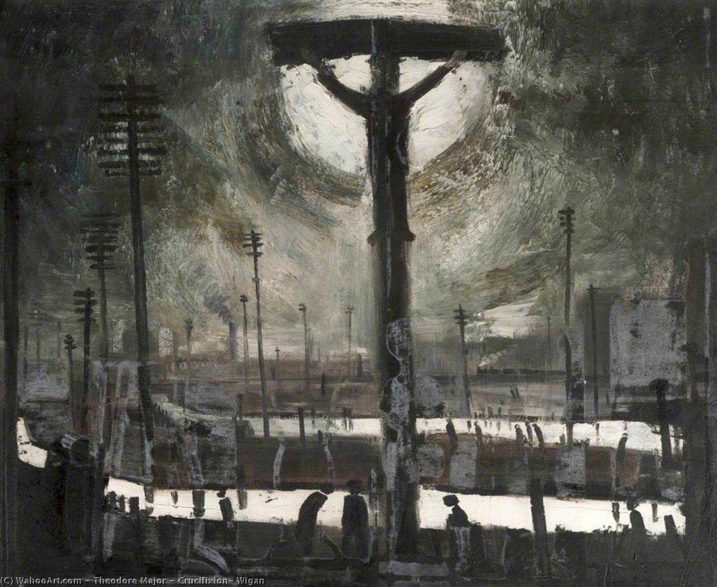 Crucifixion, Wigan by Theodore Major | Museum Quality Reproductions | WahooArt.com