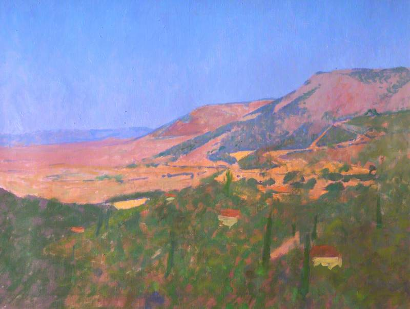 Greek Landscape by Colin Graham Frederick Hayes | Museum Quality Reproductions | WahooArt.com