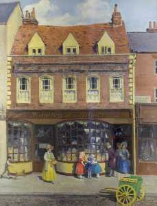 Reginald Mills - Huntley Palmer's Original Shop