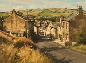 John Mccombs - Afternoon Sunlight, Summer, Delph, Saddleworth, Greater Manchester