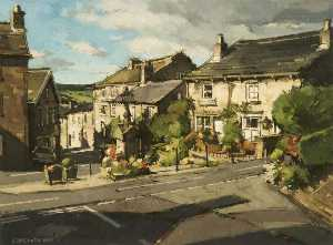 John Mccombs - The Square, Dobcross, Saddleworth, Greater Manchester