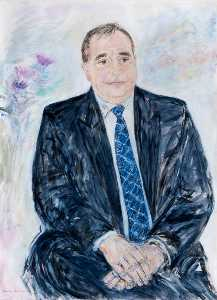 Fionna Carlisle - Alex Salmond (b.1954), Leader of SNP, Scotland's First Minister