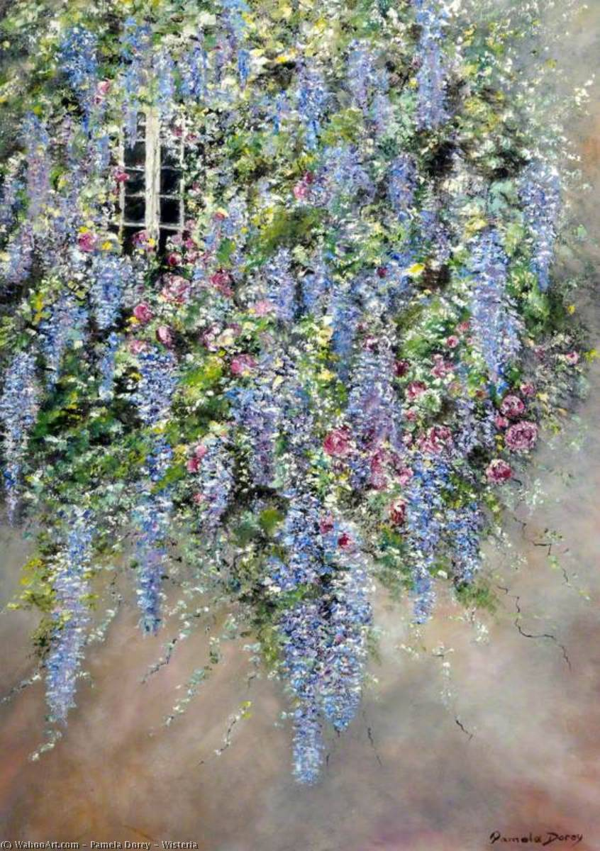 Wisteria, 2005 by Pamela Dorey | Art Reproduction | WahooArt.com