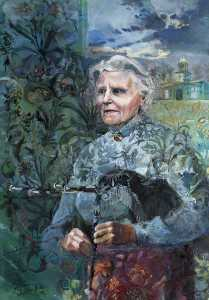 Jonathan Parker - Mrs Patricia Jennings (b.1915), on Her 80th Birthday, March 1995