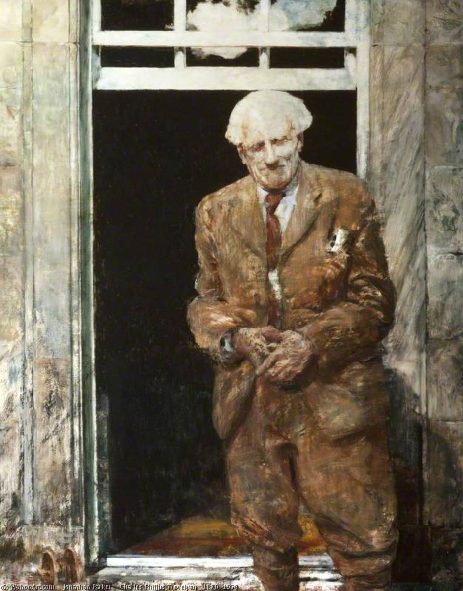 Charles Philips Trevelyan (1870–1958) by Jonathan Parker | Famous Paintings Reproductions | WahooArt.com