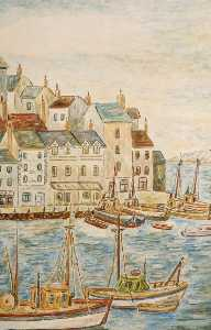 Giacomo Barbarino - The Port, Brixham, Devon