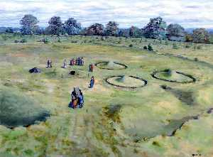 Roger Massey Ryan - Saxon Cemetery within Prehistoric Remains at Orsett