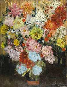 Lily Martha Maud Mcdougall - Mixed Flowers