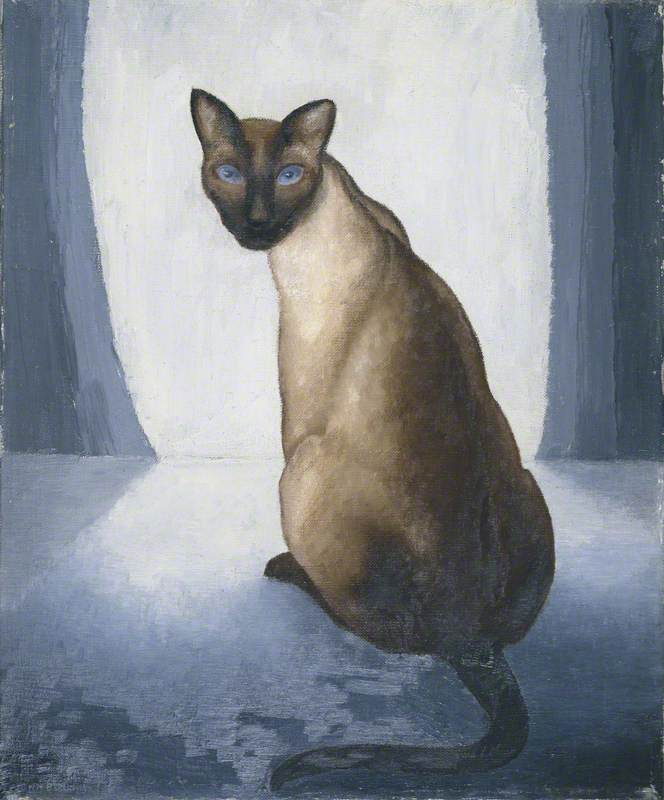 Portrait of a Cat by John Bold | Famous Paintings Reproductions | WahooArt.com