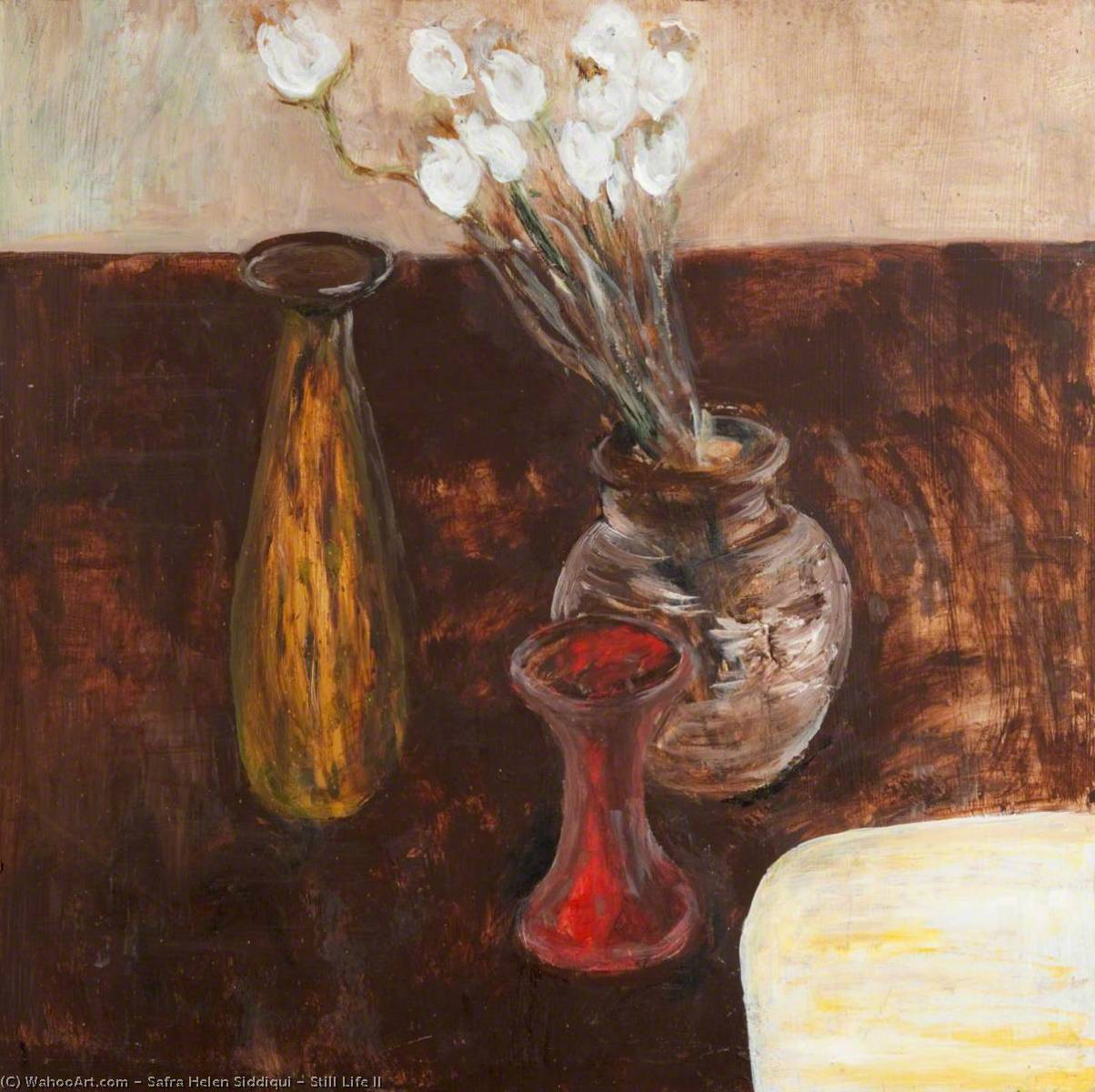 Still Life II by Safra Helen Siddiqui | Paintings Reproductions Safra Helen Siddiqui | WahooArt.com