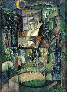William Zorach - One Horse Farm