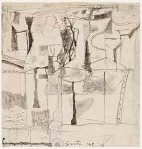 Philip Guston - Study for Tormentors