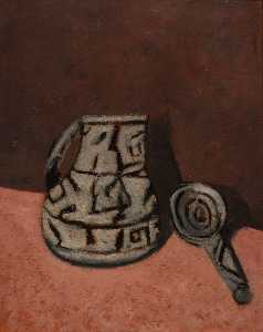Marsden Hartley - Pitcher and Dipper