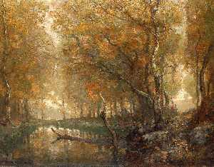 Henry Ward Ranger - Bradbury's Mill Pond, no. 2