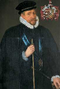 Antonis Mor - William Brooke (1527–1597), Lord Cobham, Lord Warden of the Cinque Ports