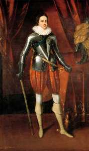 Paulus Van Somer I - Henry Frederick, Prince of Wales (1594–1612), Eldest Son of King James VI I