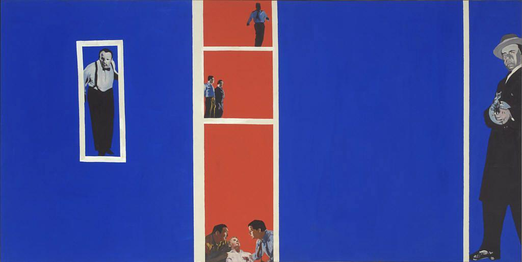 Home Movies, Canvas by Rosalyn Drexler