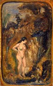 Louis Michel Eilshemius - Nude in Forest
