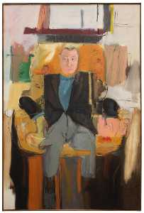 Larry Rivers - Portrait of Joseph H. Hirshhorn