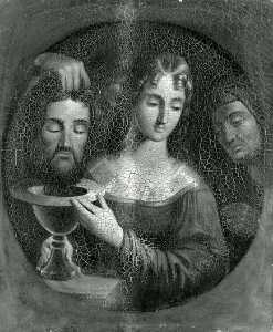 Frederick E Cohen - Salome with the Head of John the Baptist, (painting)