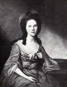 Charles Willson Peale - Mary Tilghman (b. 1753), (painting)