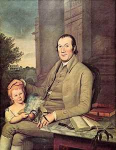 Charles Willson Peale - William Smith and His Grandson, Robert Smith Williams, (painting)