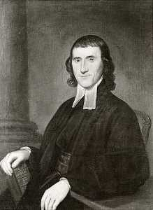 Charles Willson Peale - Unknown Clergyman John Wesley, (painting)