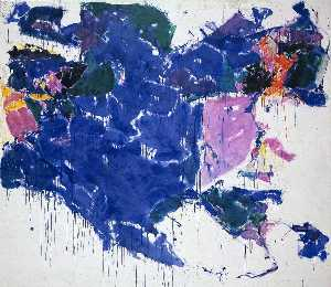 Sam Francis - Blue Out of White