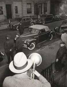 Weegee (Arthur Fellig) - Harry Maxwell Shot in Car