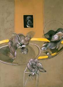 Francis Bacon - Three Figures and Portrait