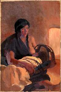 Kate T Cory - Mother and Child