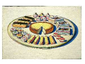 Wayne Thiebaud - French Pastries