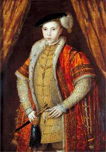 Guillim Scrots - Edward VI (1537–1553), Founder of Christ's Hospital