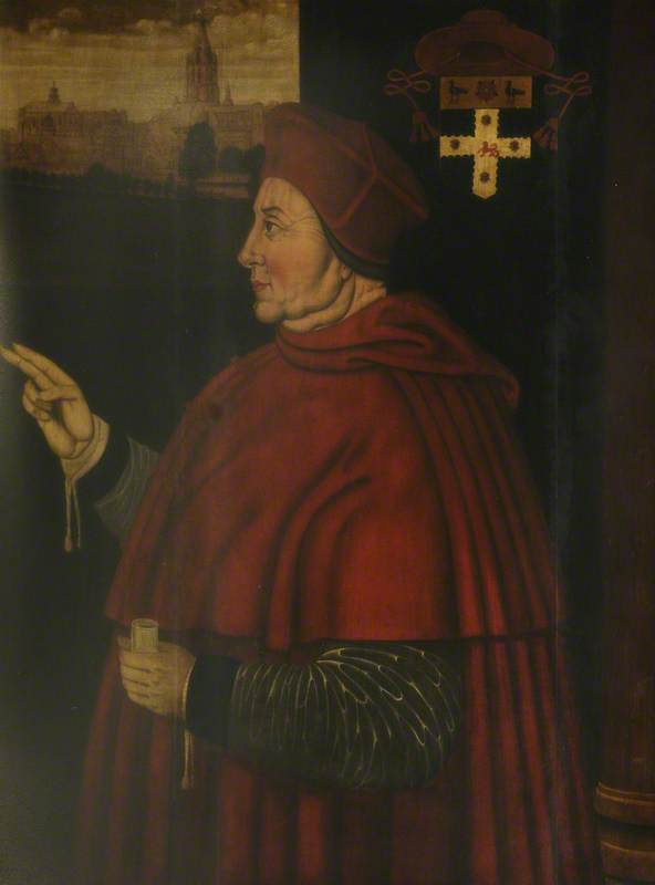 Cardinal Thomas Wolsey (1475–1530), 1611 by Sampson Strong | Art Reproduction | WahooArt.com