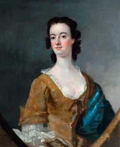 Nathan Drake - Portrait of an Unknown Lady of the Darnborough Family