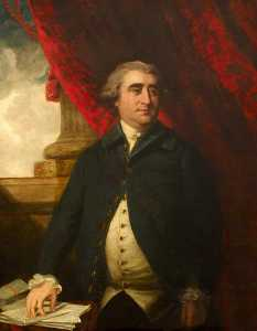 John Rising - The Honourable Charles James Fox (1749–1806), MP (after Joshua Reynolds)