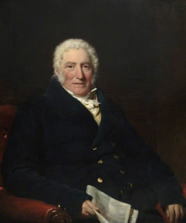 Portrait of a Gentleman, 1831 by William Patten | Painting Copy | WahooArt.com