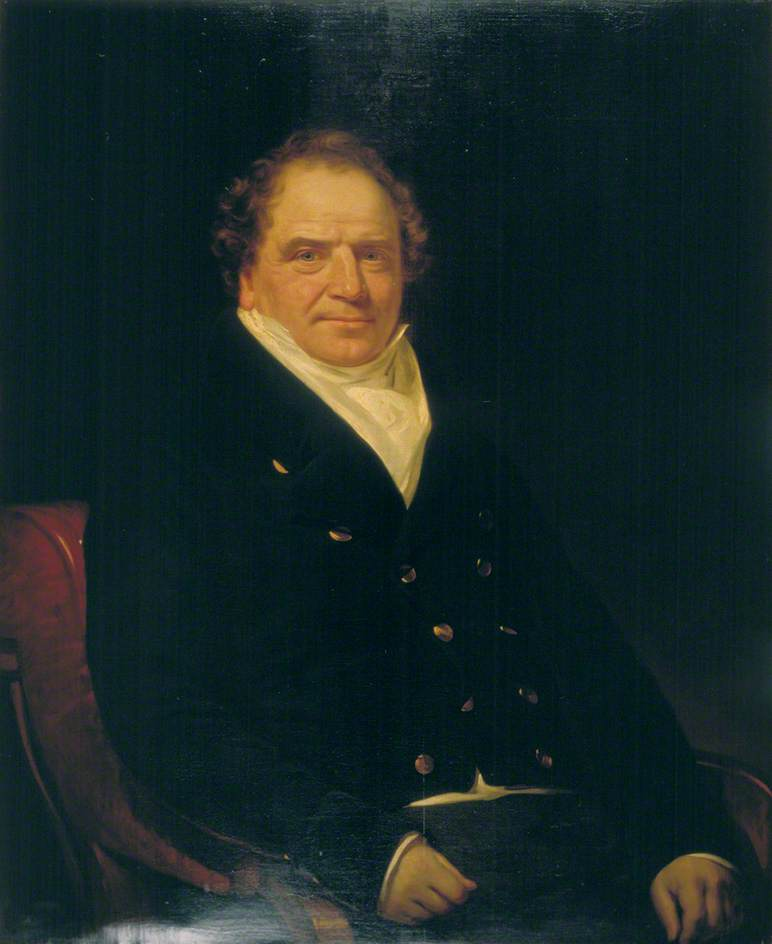 Sir Edward Banks (1770–1835), Builder, Oil On Canvas by William Patten