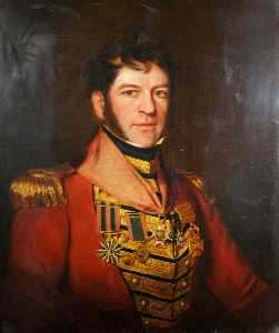 John Ponsford - Major General Sir Edmund Keynton Williams (1778–1850), KCB, KTS, Commanding 41st Foot (1827–1837)