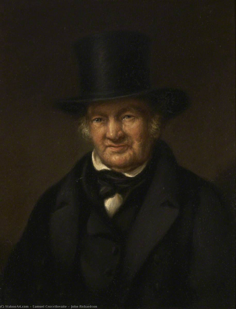 John Richardson by Samuel Crossthwaite | Paintings Reproductions Samuel Crossthwaite | WahooArt.com