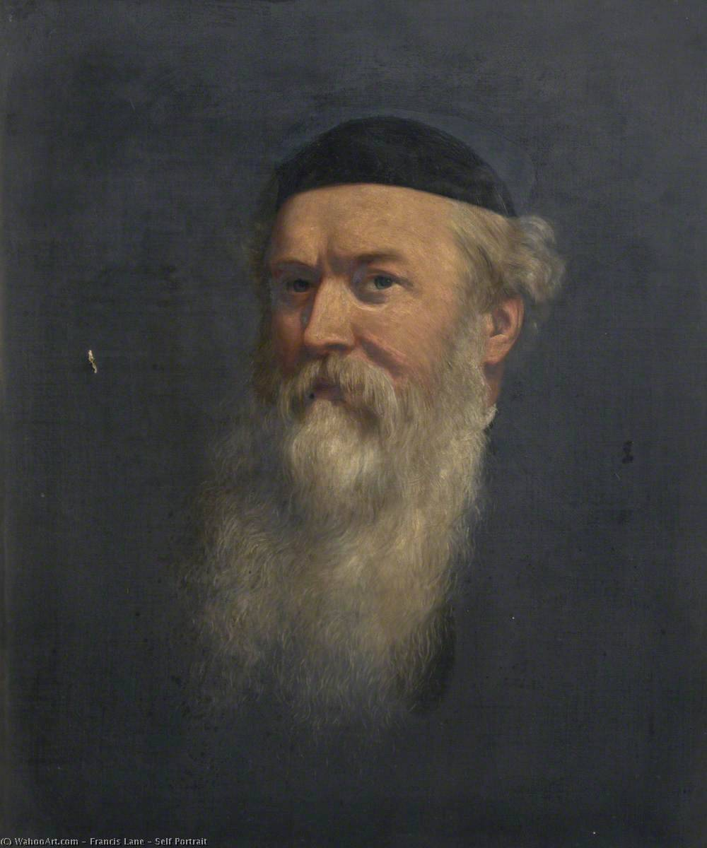 Self Portrait, Oil On Canvas by Francis Lane