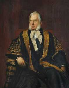 Katharine Maude Humphry - William Cavendish (1808–1891), 7th Duke of Devonshire, Chancellor of the University (1861) (copy after George Frederic Watts)