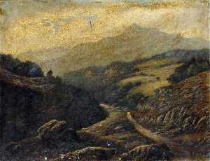 Thomas Spinks - View in North Wales