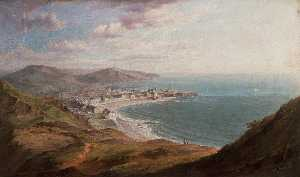 William Ward Gill - Aberystwyth from Constitution Hill