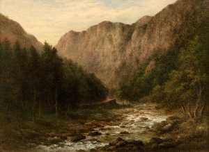 William Ward Gill - The Pass of Aberglaslyn