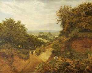 Frank Walton - View from Leith Hill, Dorking, Surrey