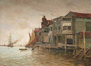Charles Edward Holloway - The Old Falcon Hotel, Gravesend, Kent