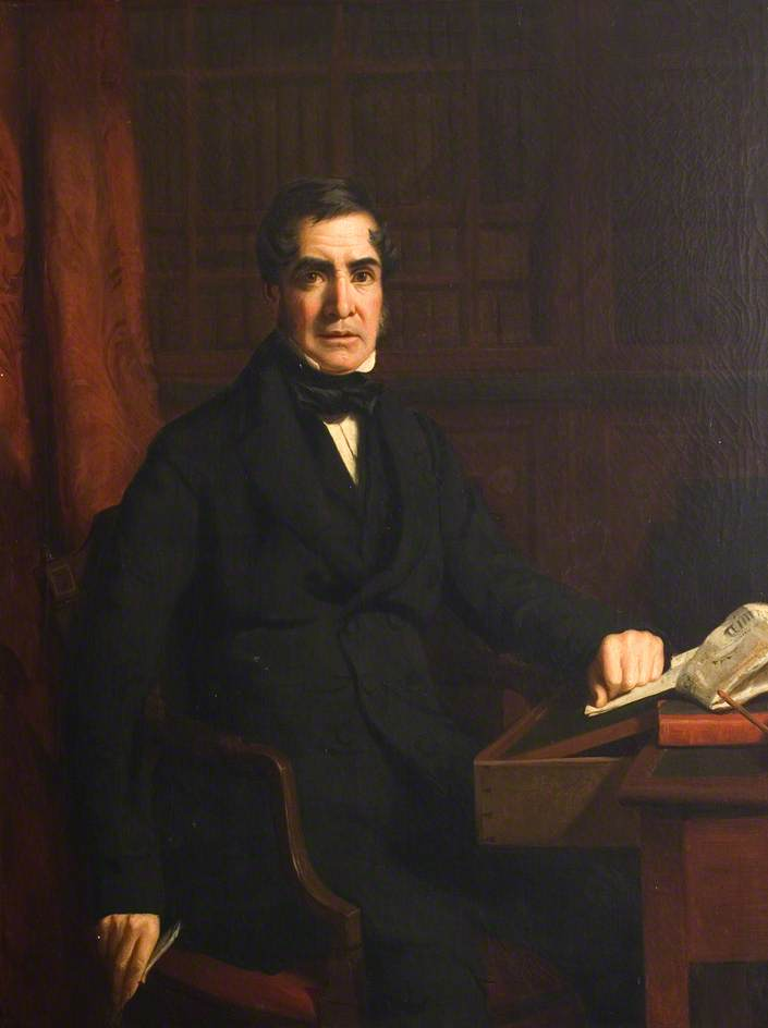 John McDiarmid (1789–1852), Oil On Canvas by William Menzies Tweedie