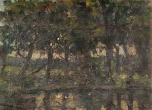 George A Boyle - Forest Scene